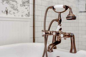 tub fixture detail
